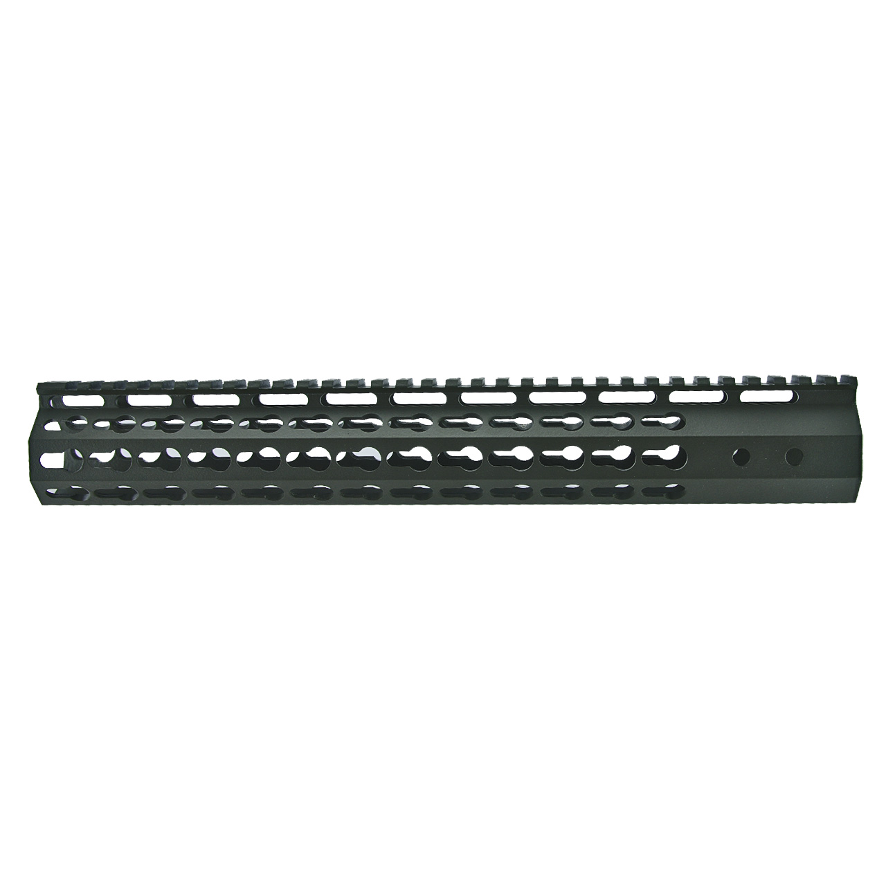 AR15 7 Sided Keymod Hand Guard, OD Green cerakote