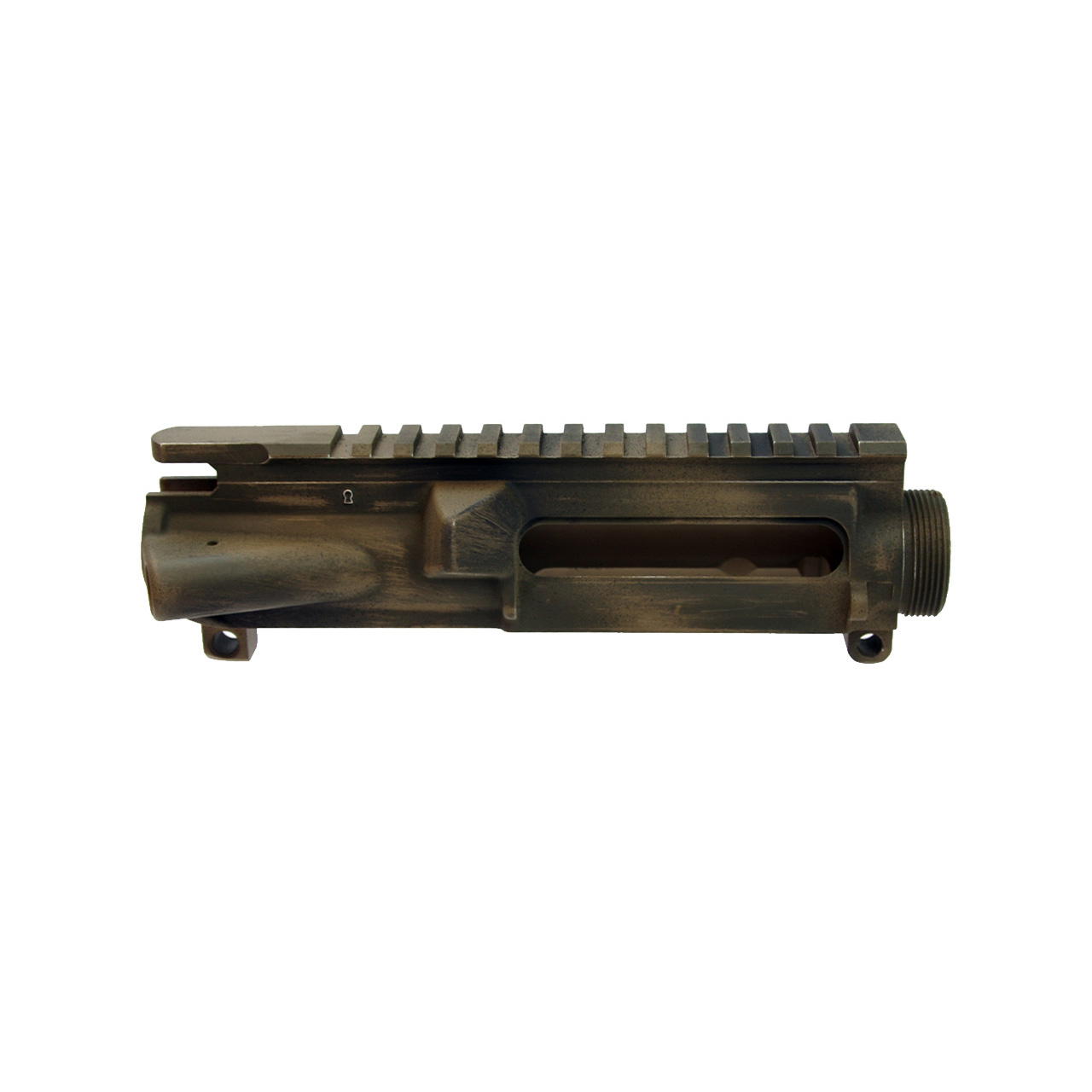 .223 Upper receiver battle worn camouflage cerakote