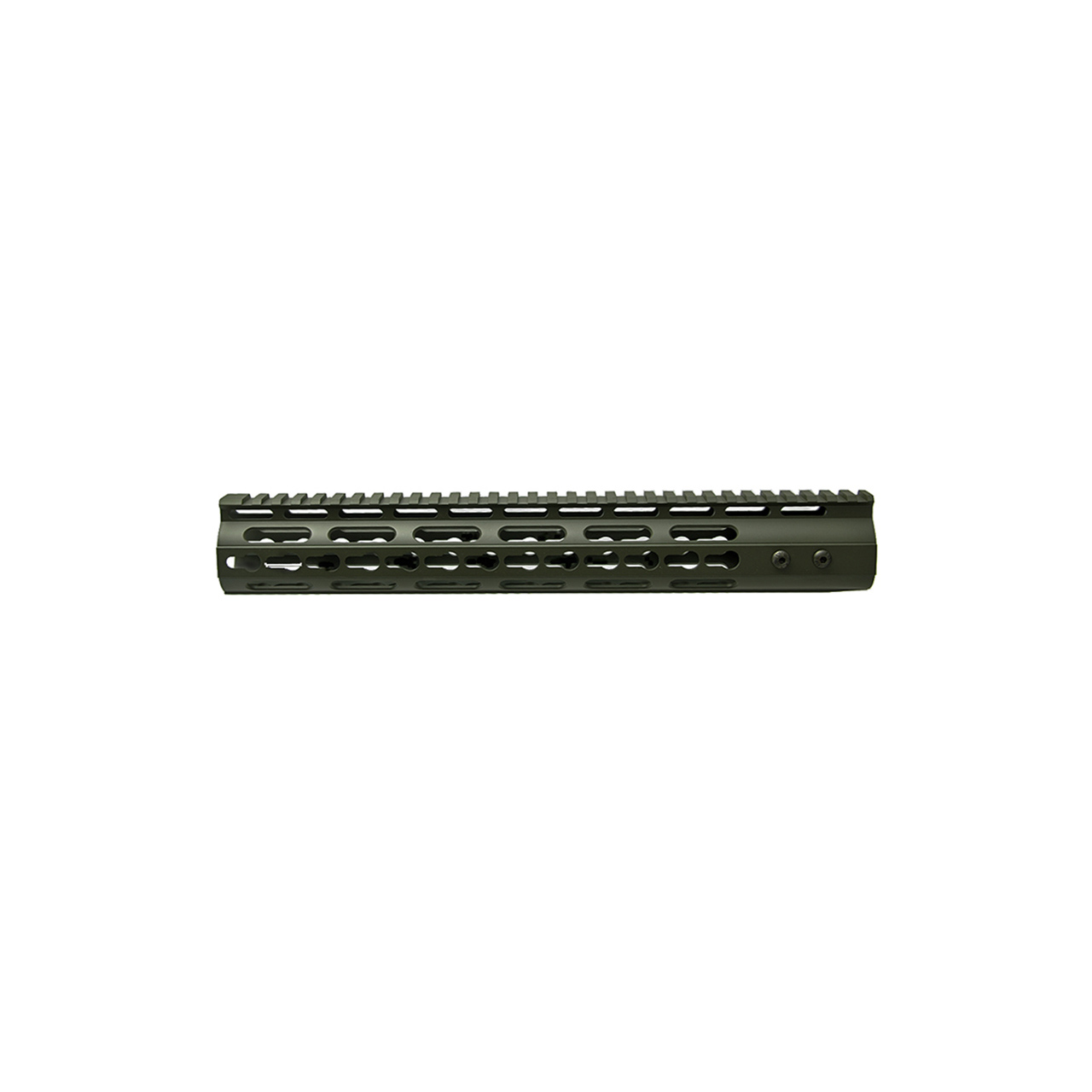 AR15 3 Sided KeyMod Hand Guard, Olive Drab Green Cerakote