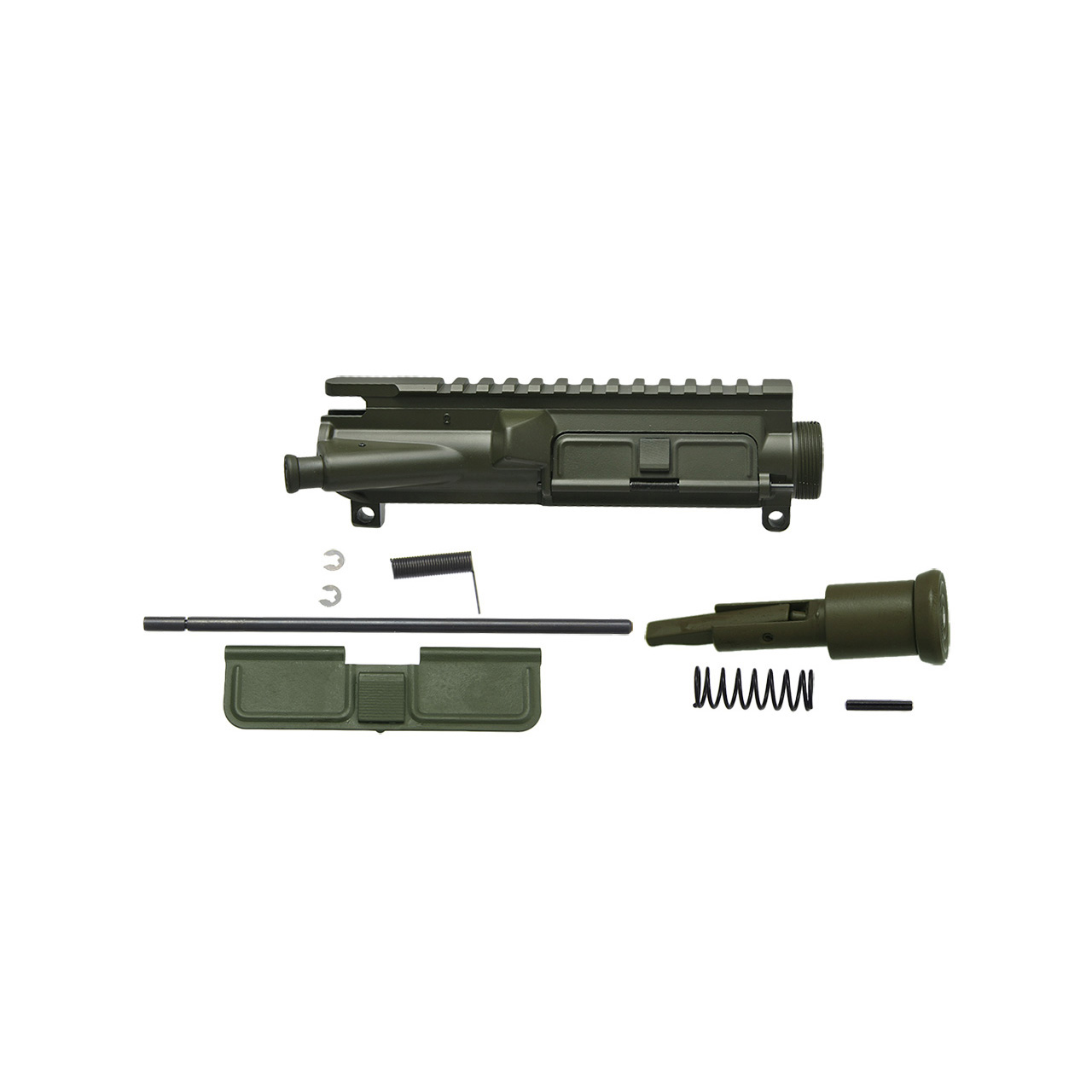 AR15 complete upper receiver w/ forward assist and dust cover, OD green cerakote, Charging Handle
