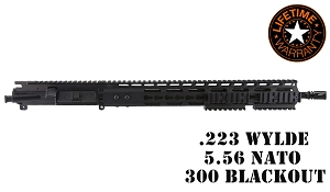 Complete .300 Blackout AR15 Upper Assembly w/ 16