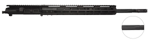 ".223 WYLDE upper, 20"" Stainless Steel Straight Flute with Black Nitride Finish, 1:8 Twist, Full Length Gas System with 15"" Key-Mod Handguard"