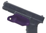 Kydex Trigger Guard For Glock 17, Purple
