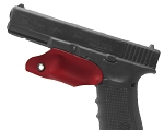 Kydex Trigger Guard For Glock 17, Red