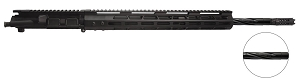 ".223 WYLDE upper,  20"" Spiral Flute Barrel, 1:9 Twist, Full Length Gas System with 15"" M-Lok handguard"
