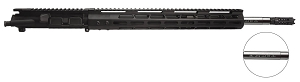 ".223 WYLDE upper, 16"" Stainless Steel, 1:8 Twist, Mid Length Gas System with 15"" Key-Mod Handguard, Charging Handle"