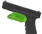 Kydex Trigger Guard For Glock 17 Green