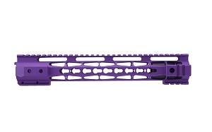 AR15 Clamp on style handguard, wild purple cerakote