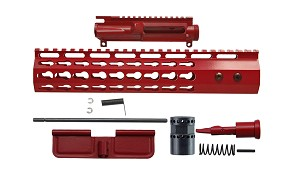 AR15 7 sided keymod cerakoted upper kit (Various Size And Color Options Available)