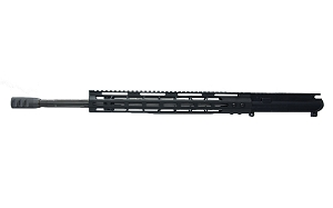".223 WYLDE upper, 20"" Stainless Steel Straight Flute with Black Nitride Finish, 1:8 Twist, Full Length Gas System with 15"" Key-Mod Handguard, BCG and Charging Handle"