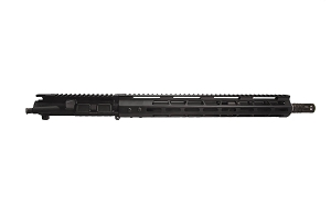 ".223 WYLDE upper, 16"" Straight Fluted, 1:8 Twist, Carbine Gas System with 15"" M-Lok Handguard, Charging Handle"