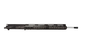 "5.56 NATO, 20"" Heavy Barrel, 1:7 Twist, Full-Length Gas System with 15"" Key-Mod Handguard, Charging Handle"